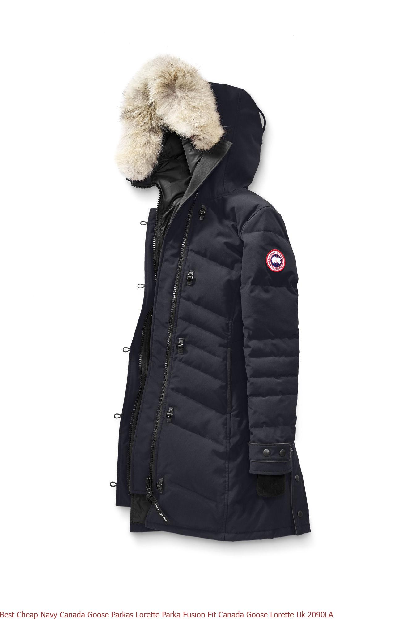 The factory direct Silverbirch Canada Goose Parkas Lorette Parka Black Label Canada Goose Outlet Store Quebec 2090LB