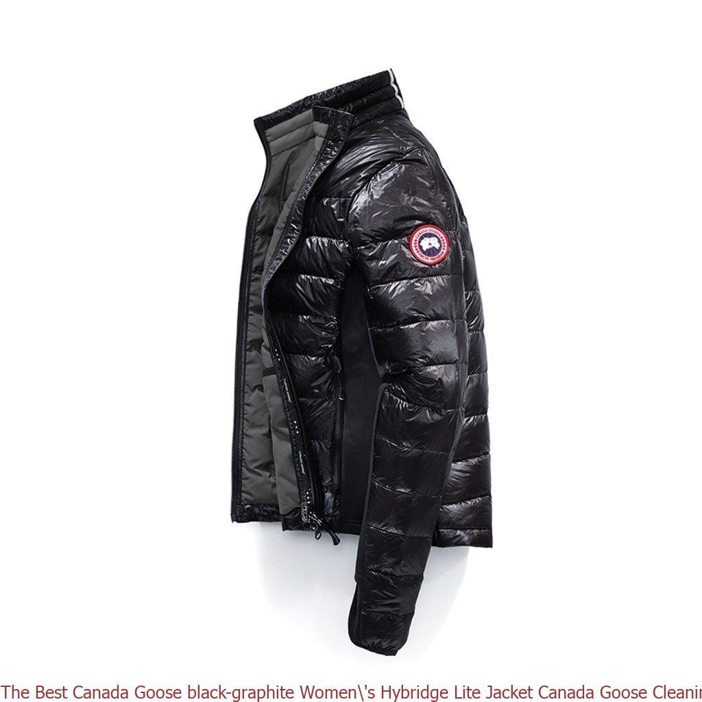 The Best Canada Goose black graphite Women's Hybridge Lite Jacket Canada Goose Cleaning Uk 6605136197