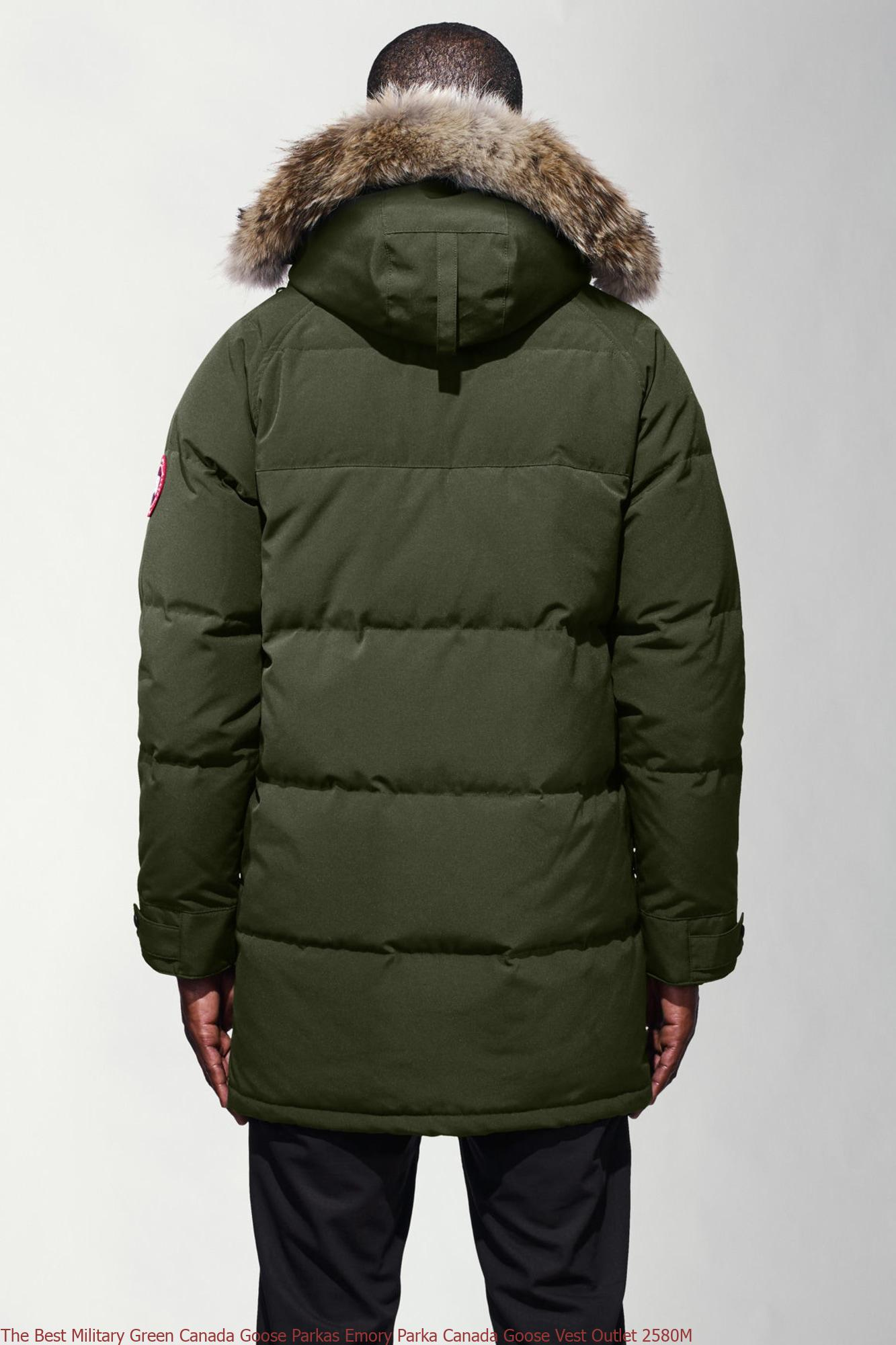 MILITARY GREEN Men's Casual Jackets Canada Goose Mens Emory